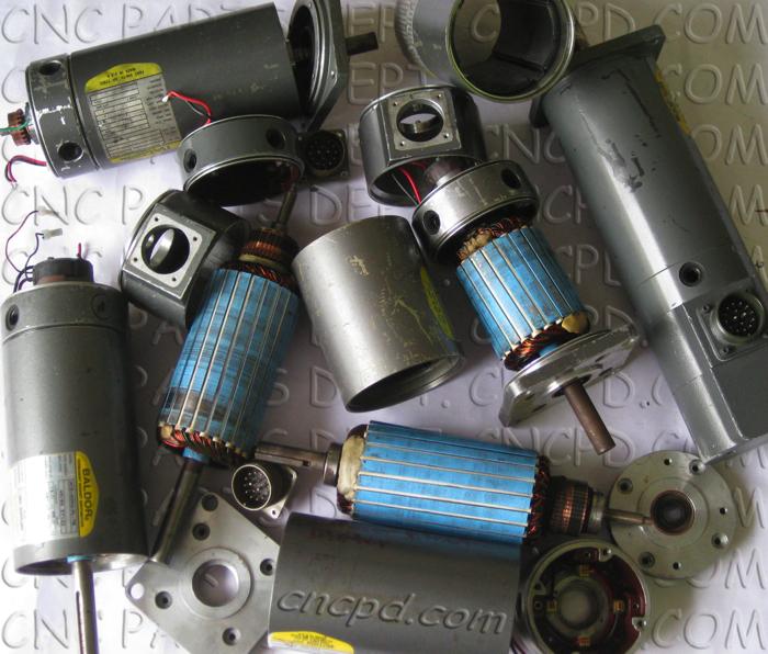 Baldor DC Servo Motor Repair Services