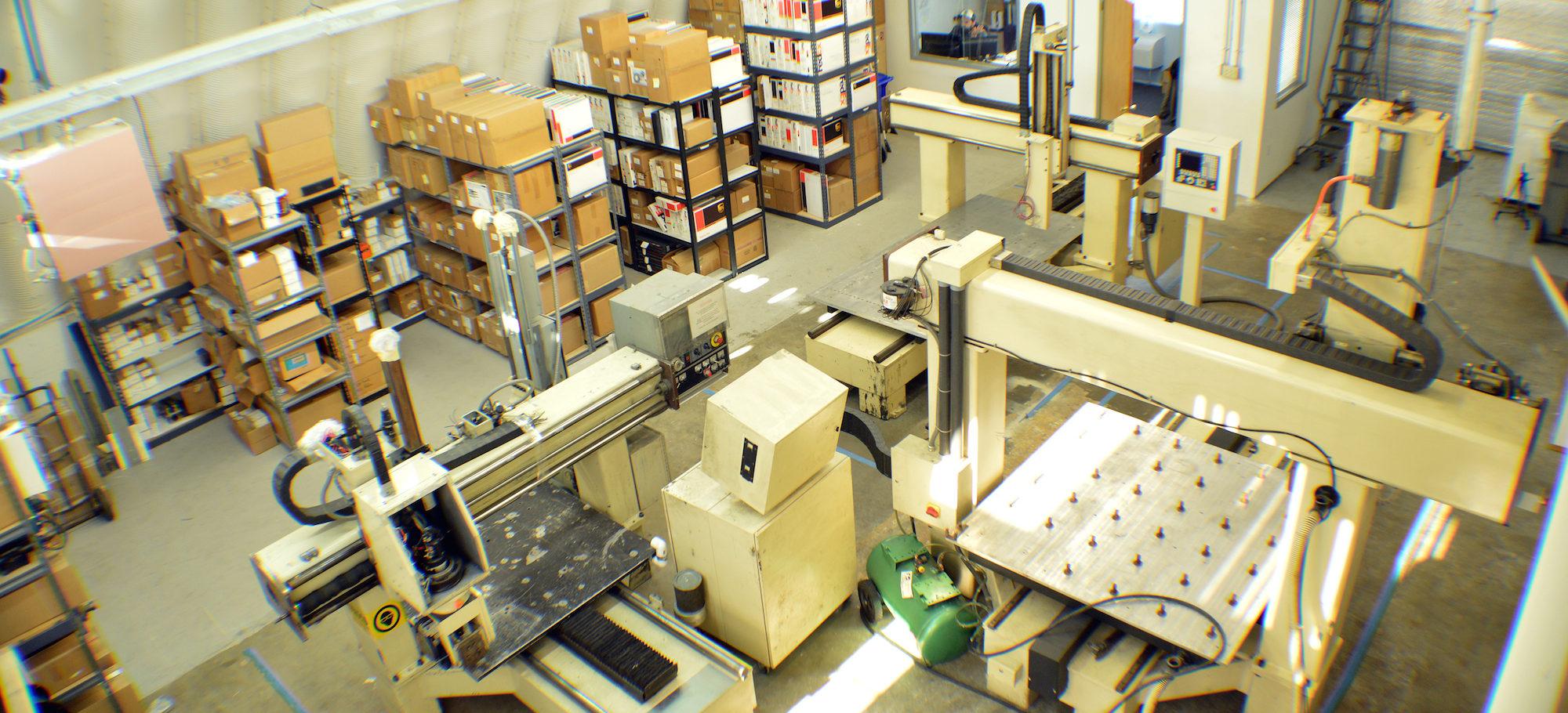 CNC Parts Dept Warehouse