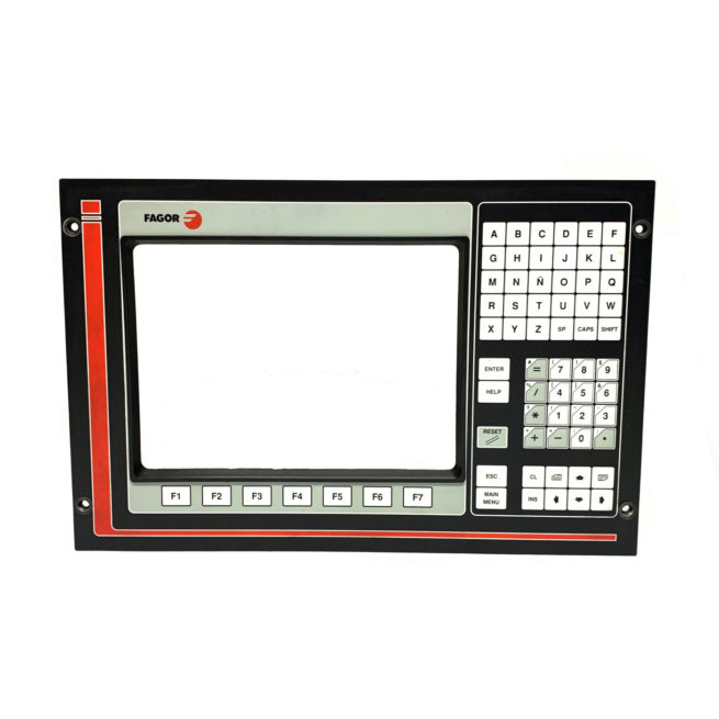 Fagor CNC 8050 14in Front Panel 8C421001 1