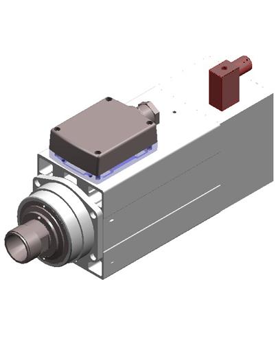 Hsd Mt1090 9hp Mtc Spindle Motor Y616109095 Cnc Parts Dept Inc
