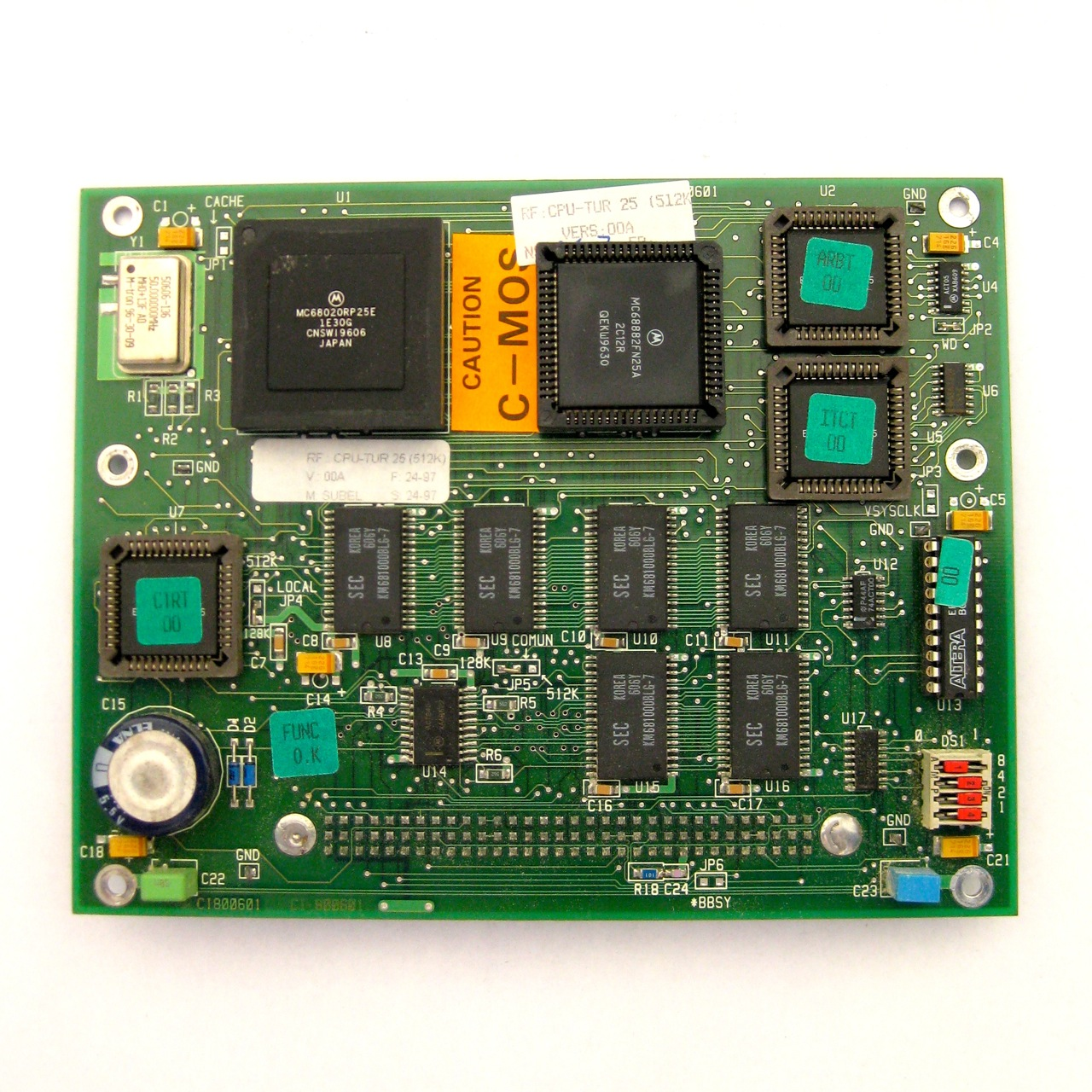 Fagor CPU-TUR 25 (512K) CPU turbo board