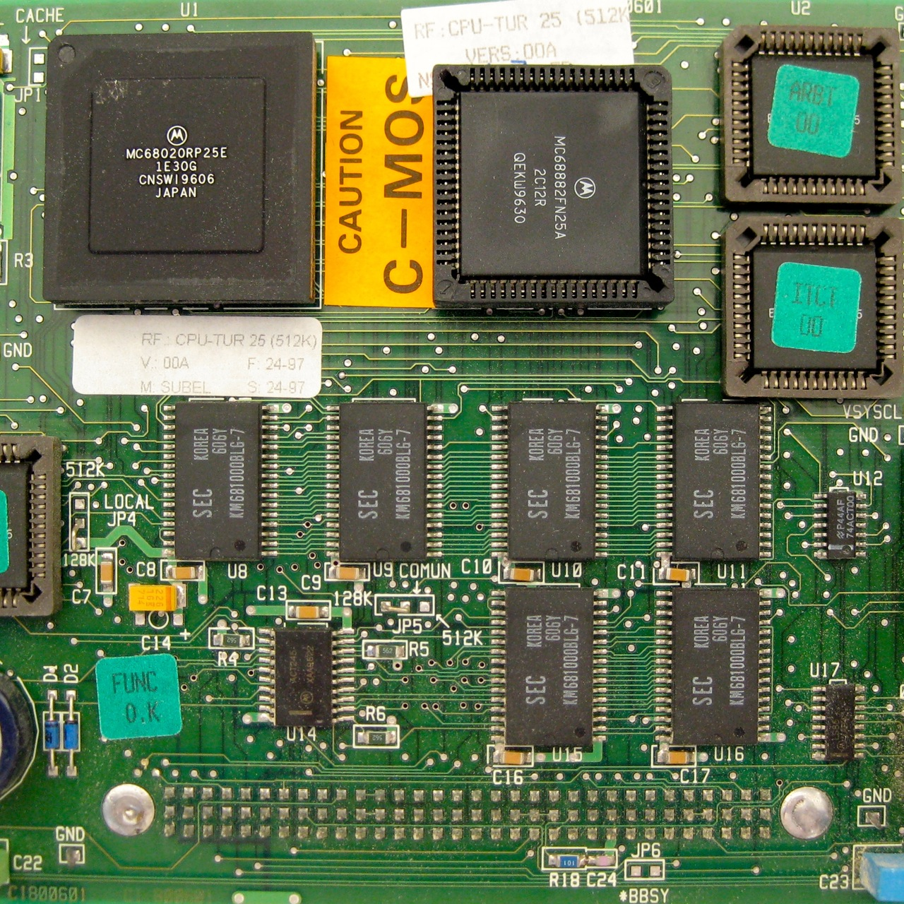 Fagor CPU-TUR 25 (512K) CPU turbo board 03