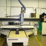Motionmaster 3 axis CNC router w/ Moving 8x4 Table