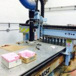Used DMS 3 Axis CNC Router c411