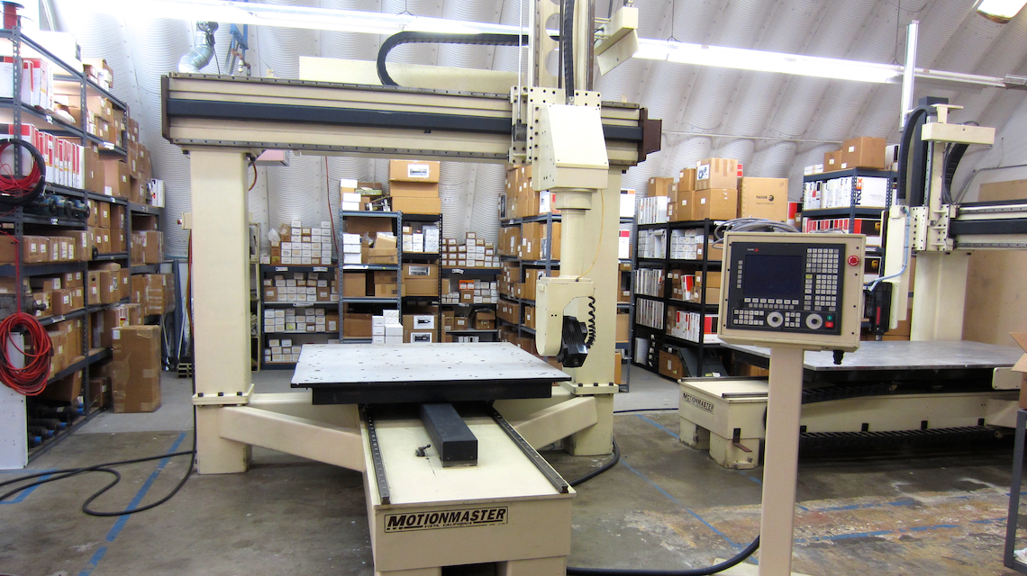 Motionmaster 5 Axis CNC Router For Sale