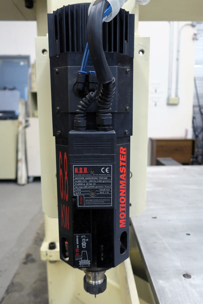 Motionmaster CNC Router C392 Spindle