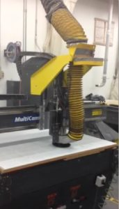 Multicam 4x8 3 Axis CNC Router C394-1