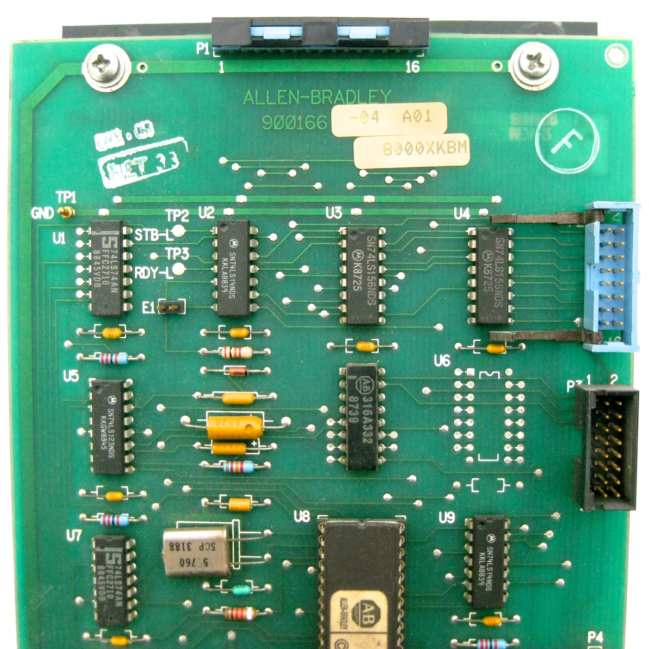 Allen Bradley 8410 Kybd Keyboard Assembly Cnc Parts Dept