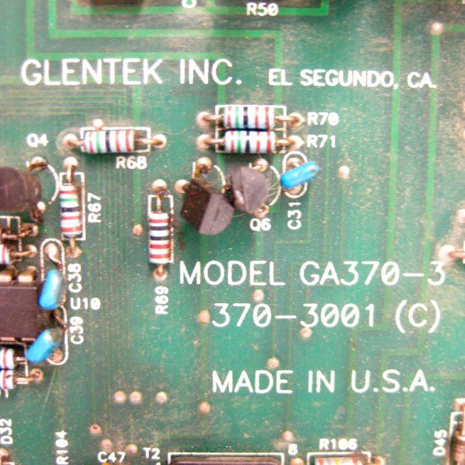 Glentek Inc. Model GA370-3