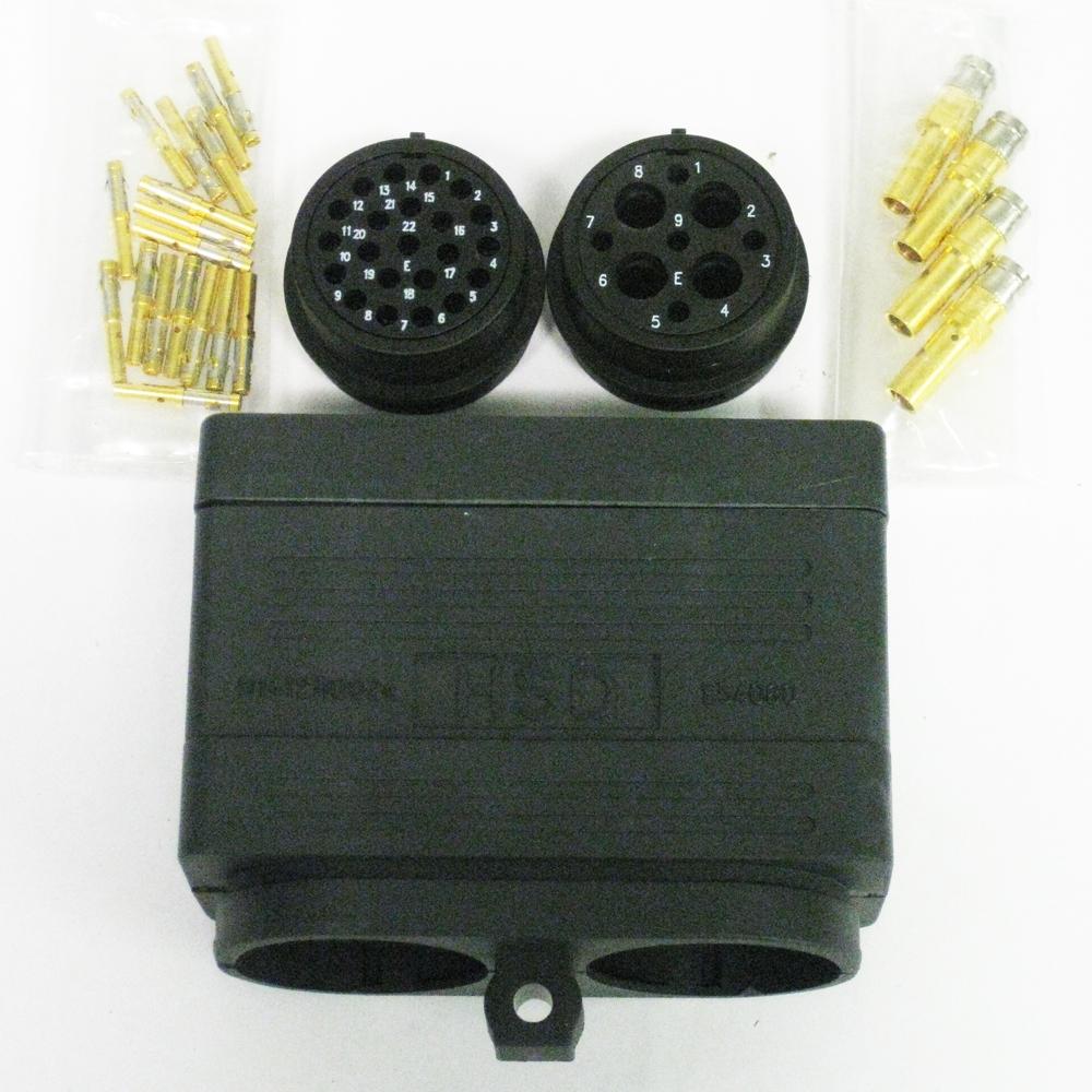 Hsd Power Signal Connector Kit Cnc Parts Dept Inc