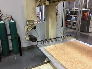 Motionmaster 5 axis CNC router E494 03
