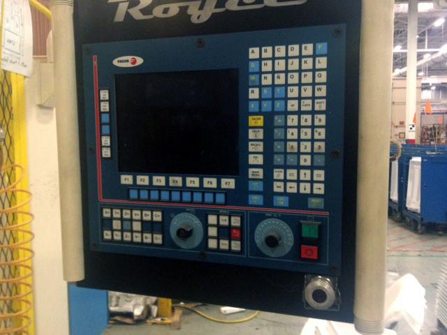 Royce 5 axis CNC router E493 02