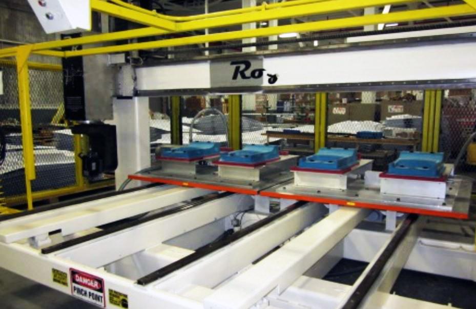 Royce 5 axis CNC router E493 03