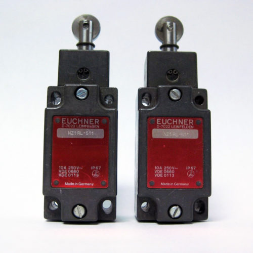 Euchner NZ1RL-511 Roller Plunger Limit Switches