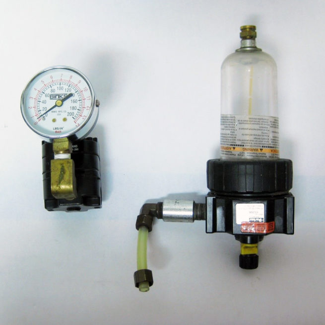 Pneumatic Precision Regulator and Lubricator Kit 322544033764