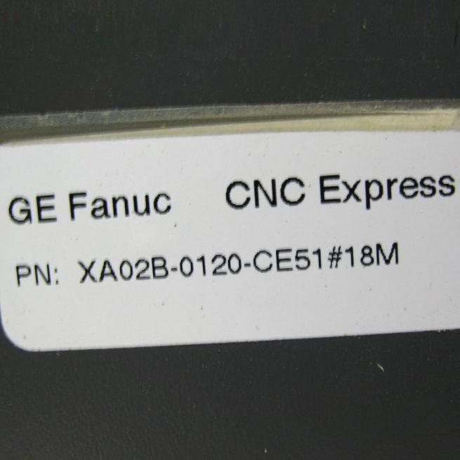 HMI XA02B-0120-CE51 GE Fanuc Series 18-M 2