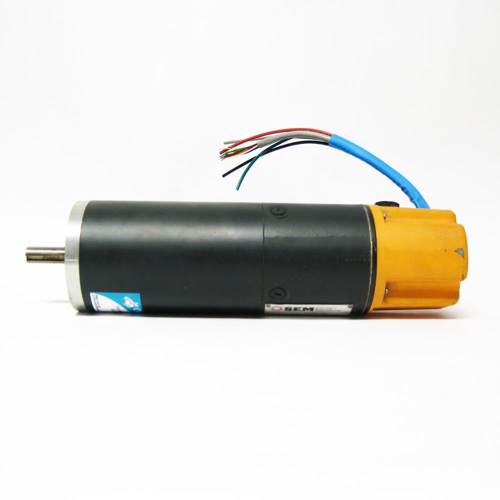 Sem mt30r4 42 dc servo motor used cnc parts dept inc for Servo motors and drives inc