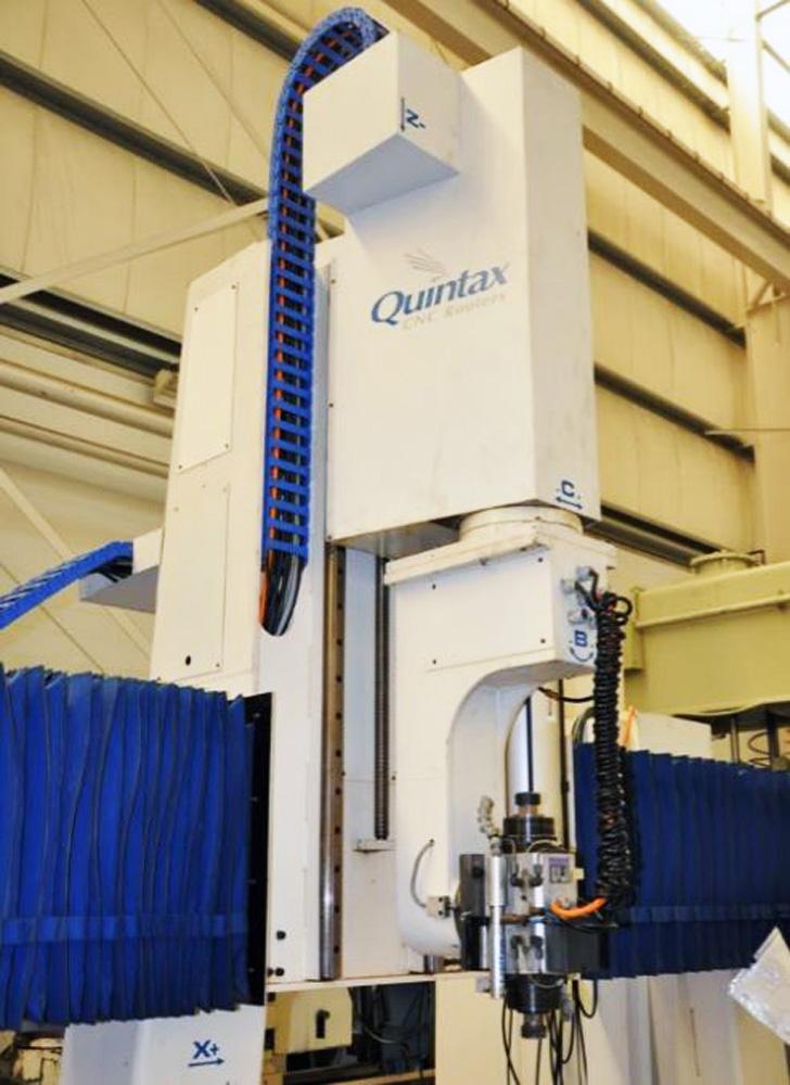 Quintax 5 Axis CNC Router E506