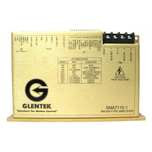Glentek SMA7115-05E-1 DC Brush Servo Amplifier