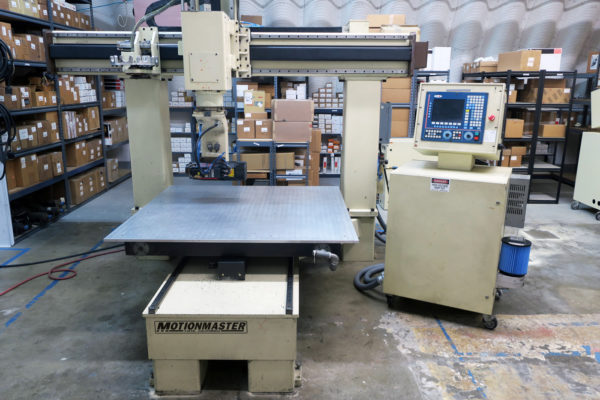 Motionmaster 5 Axis CNC Router E541 12