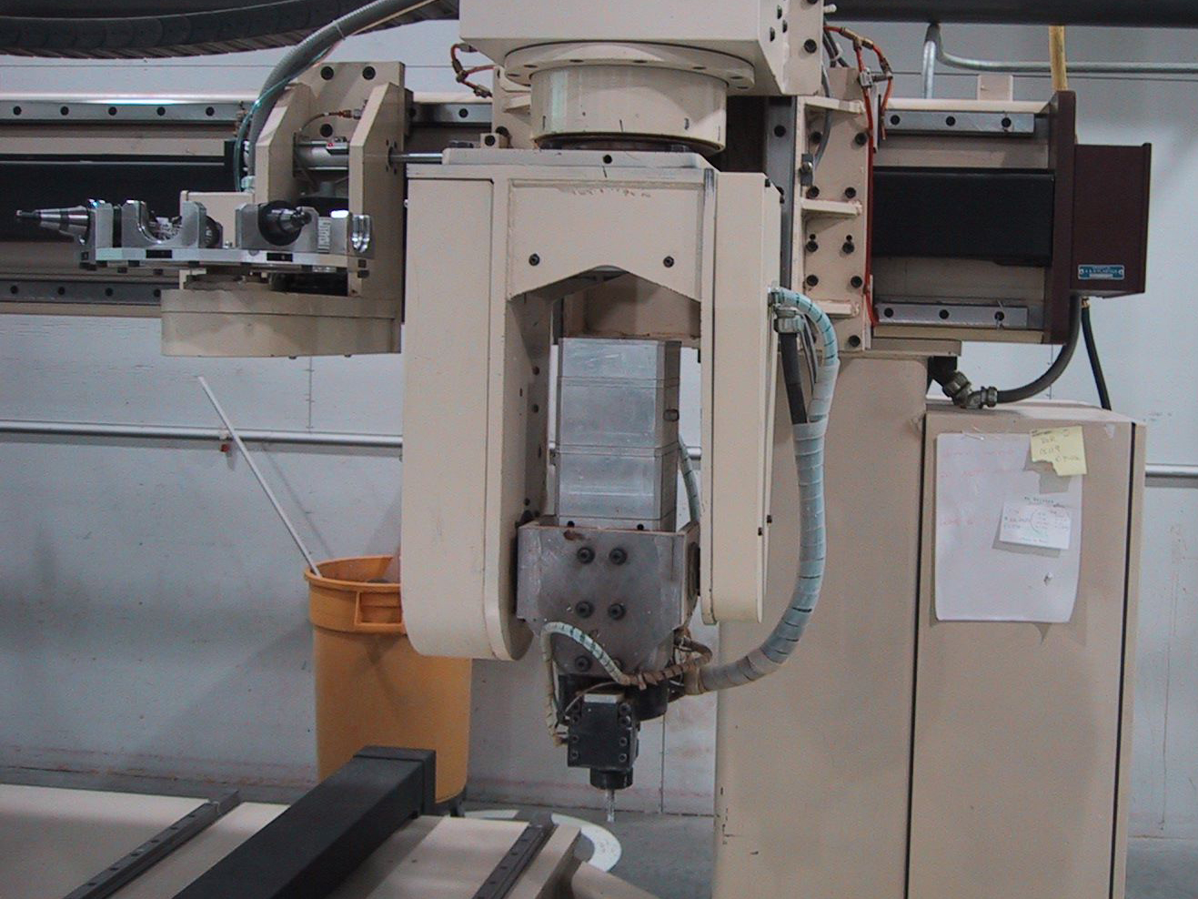 5th axis spindle head retrofits
