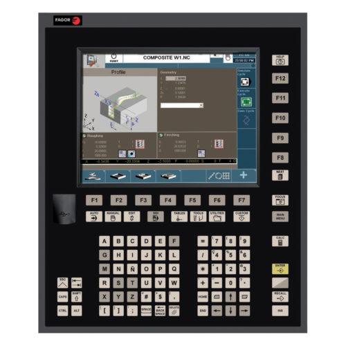 83600000 Fagor CNC System LCD Vertical Monitor