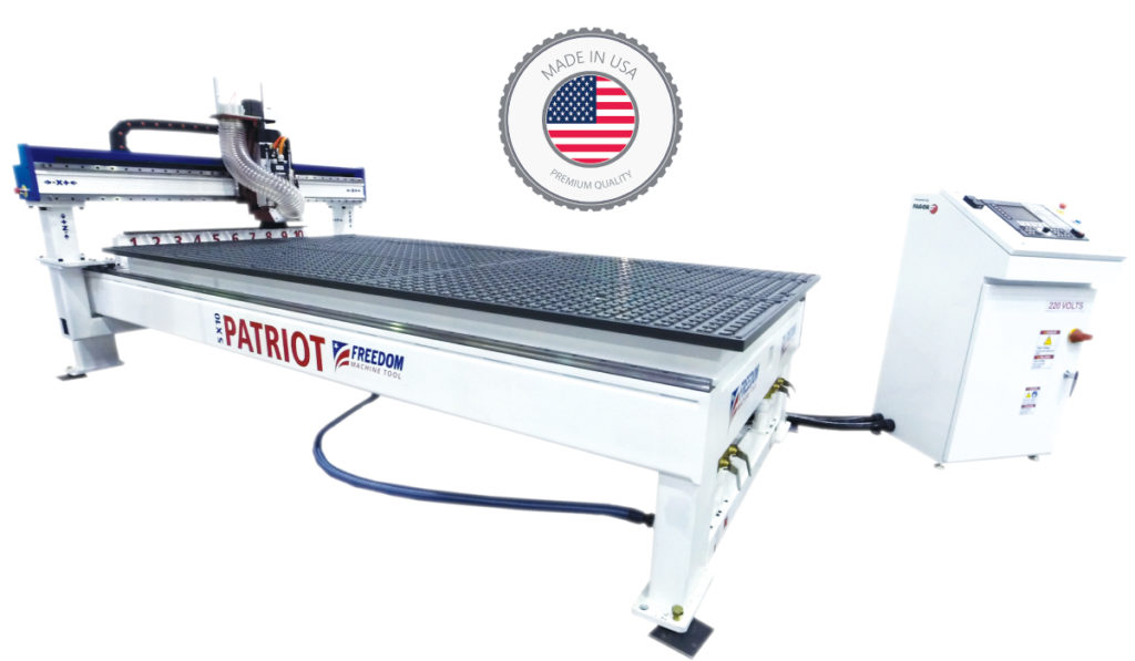 Freedom 3 Axis 5x10 CNC Router by DMS