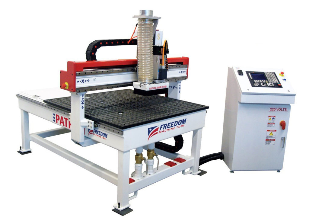 Freedom 3 Axis 4x4 CNC Router by DMS
