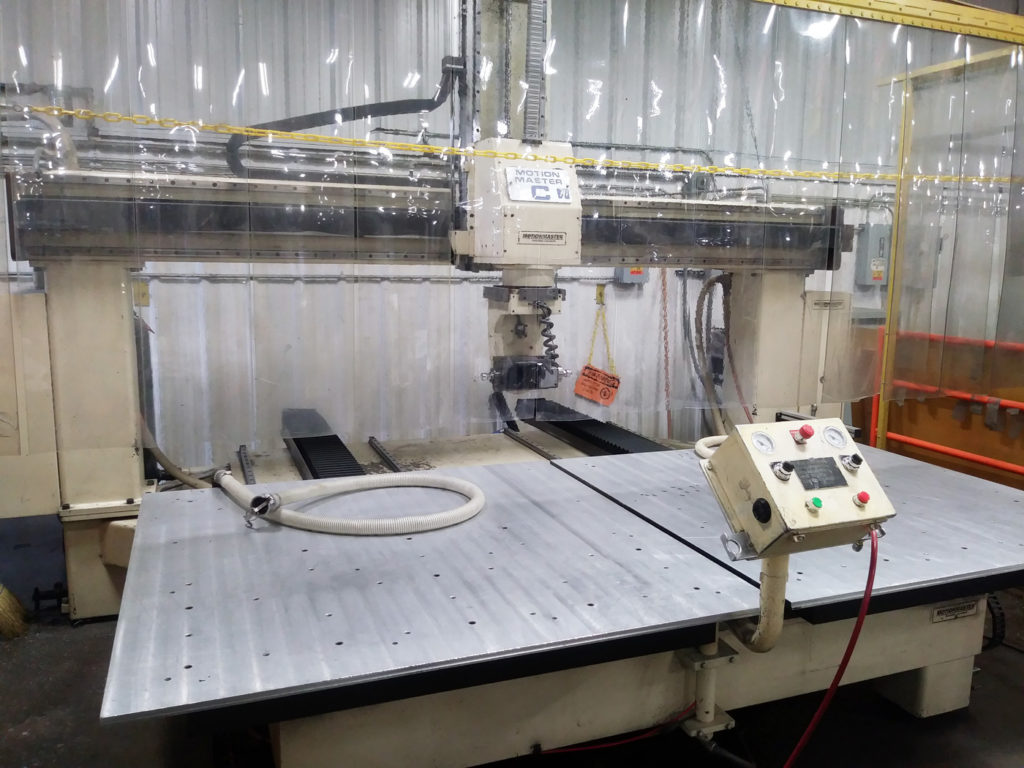 Motionmaster 5 Axis CNC Router E595 05