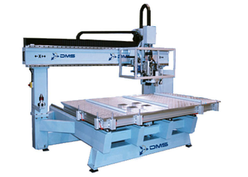 DMS 3 Axis Moving Table CNC Machine 2