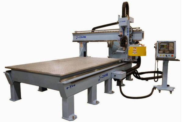 DMS 3 Axis Gantry CNC Machine 2