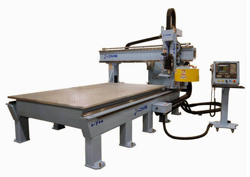 DMS 3 Axis Gantry CNC Machine