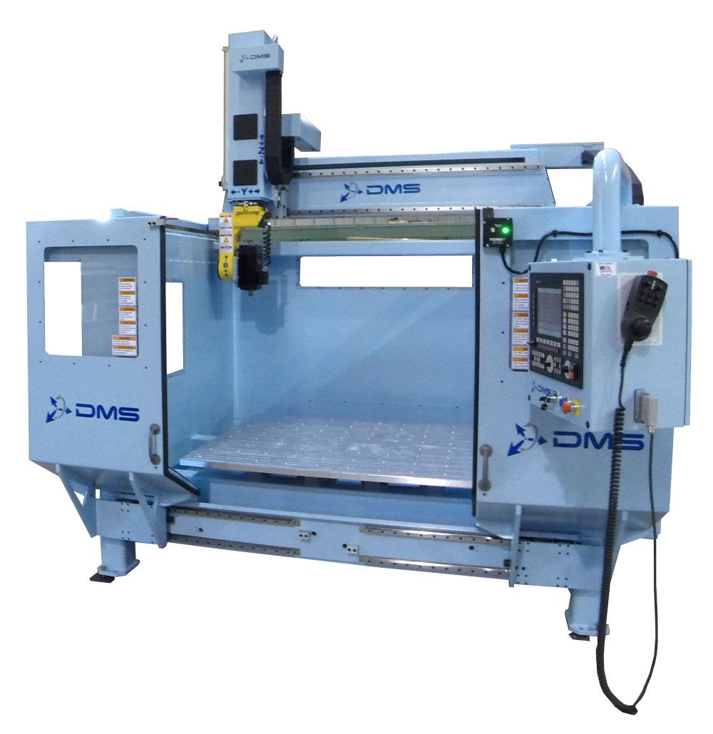DMS 5 Axis D5E Overhead Gantry CNC Machine 2