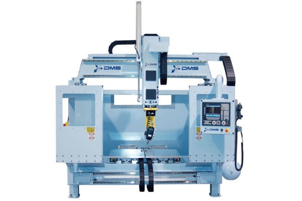 DMS 5 Axis Enclosed D5E Machine