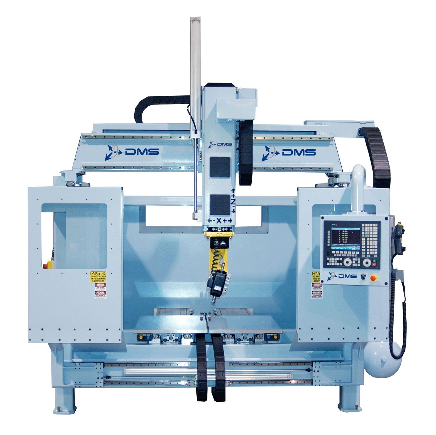 DMS 5 Axis D5E Overhead Gantry CNC Machine 1