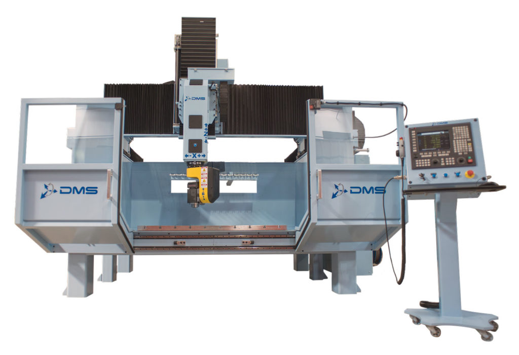 DMS 5 Axis Enclosed Overhead Gantry CNC Machine 4