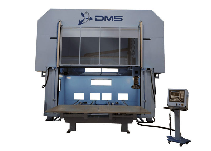 DMS 5 Axis Enclosed Overhead Gantry CNC Machine 2