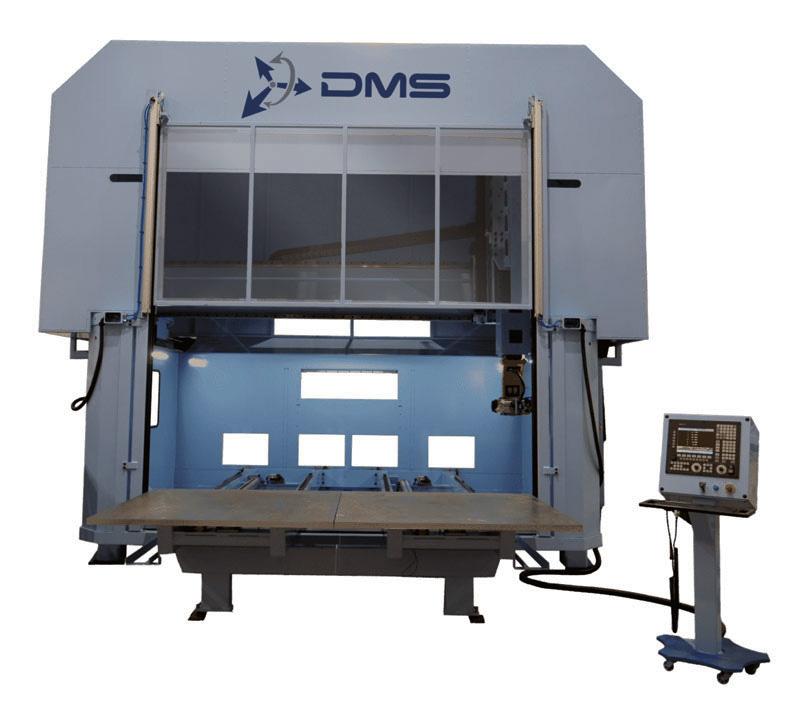 DMS 5 Axis Enclosed Overhead Gantry CNC Machine