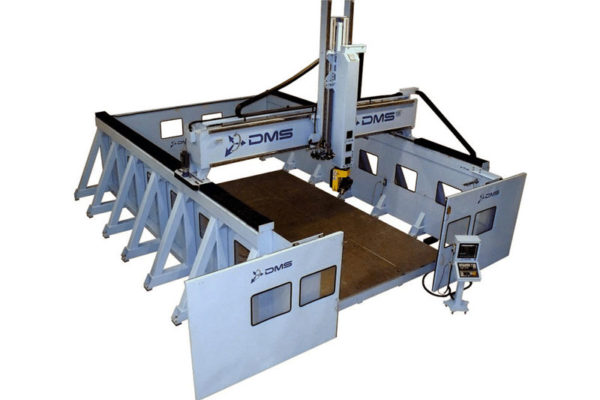 DMS 5 Axis Large Format Overhead Gantry CNC Machine 3