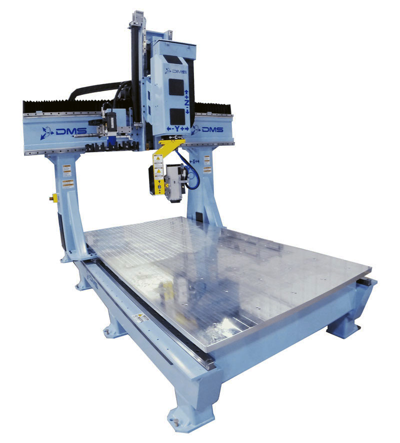 DMS 5 Axis Large Format Gantry CNC Machine 1