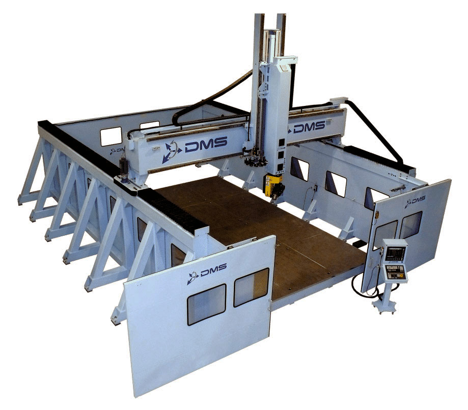 DMS 5 Axis Sidewall Gantry CNC Machine 1
