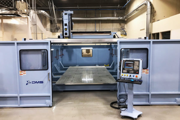 DMS 5 Axis CNC Router E628 13