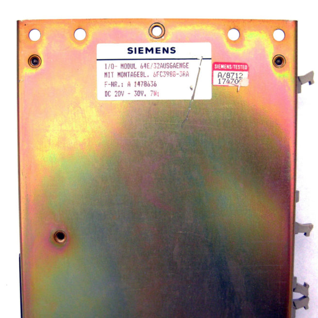 Siemens Sinumerik 64E:32 AUSGAENGE I/O Module 3
