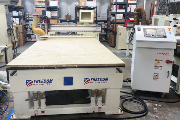 FMT Patriot 3 axis CNC Router Featured