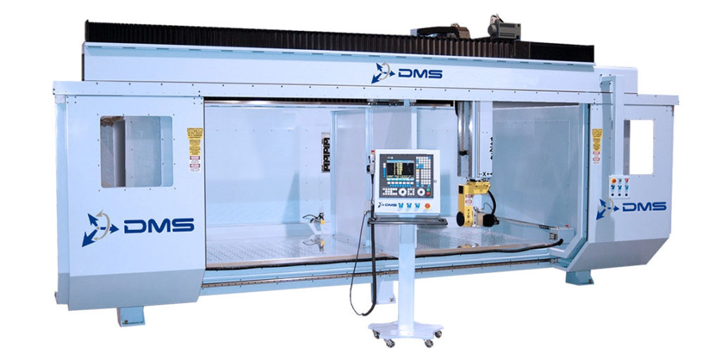 DMS 5 Axis Dual Moving Table CNC Machine 2