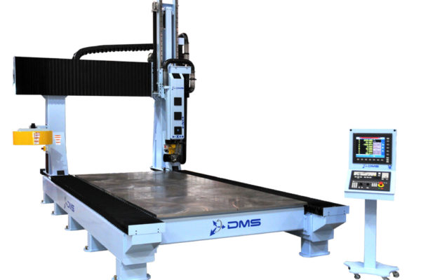 DMS 5 Axis Gantry CNC Router Featured