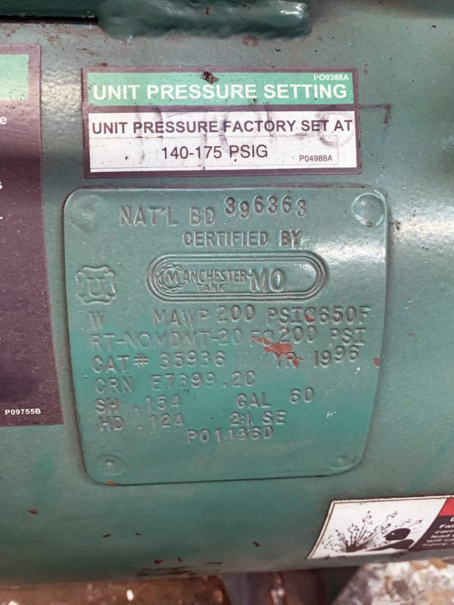Champion Pnuematic Machinery Air Compressor 4