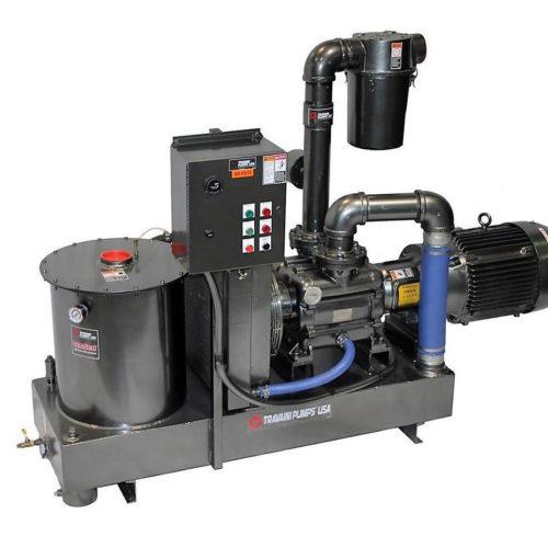 Travaini Dynaseal EVO liquid ring vacuum pump system