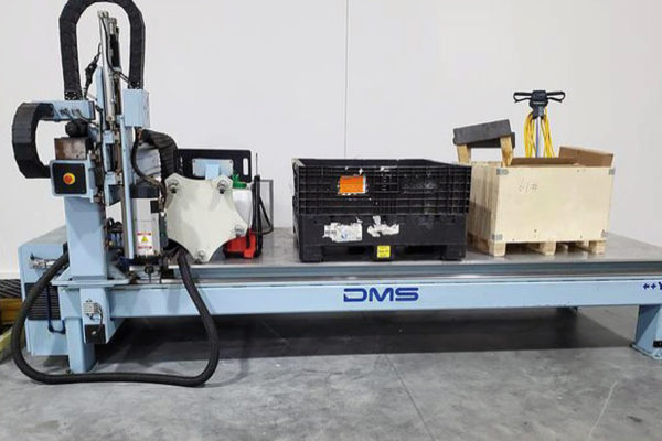 DMS 3 Axis CNC Router C654 A