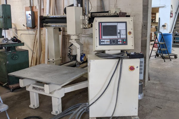 Motionmaster 5 Axis CNC Router E652 B